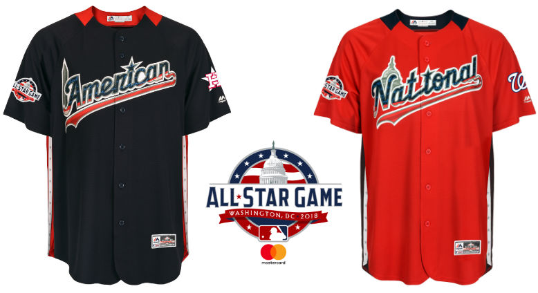 buy popular a9dbb b4ae4 2018 MLB All-Star Game Jerseys For Home Run Derby & Futures Game