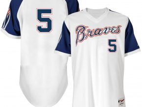 1974 Atlanta Braves throwback jersey
