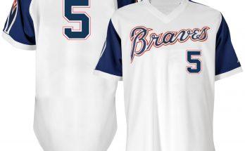 1974 Atlanta Braves throwback jersey
