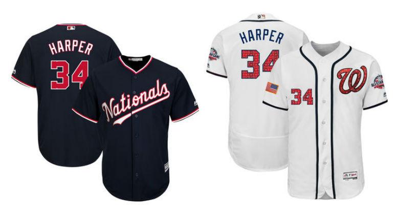 san francisco 7a625 5348e Bryce Harper Nike Jerseys Coming 2020 Washington Nationals ...