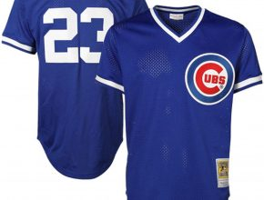 Chicago Cubs Sandberg Mitchell Ness Jersey