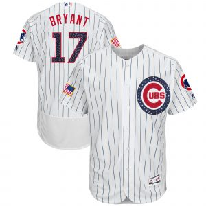 Cubs Bryant Starts & Stripes Jersey