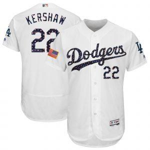 Dodgers Kershaw Stars & Stripes Jersey