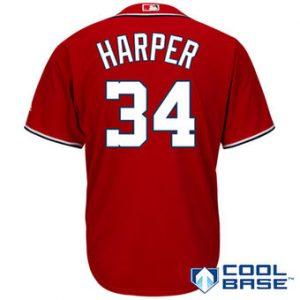Bryce Harper Nike Jerseys