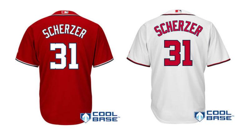 huge discount 67872 583d6 Max Scherzer Nike Jerseys Coming 2020 Washington Nationals ...